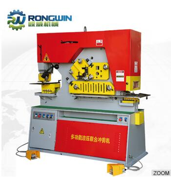 High Quality and Multifunction Hydraulic Metal Punching Machine Iron-worker with Good Price