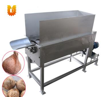 dry coconut peeling machine/coconut peeler machine/coconut hair removing machine