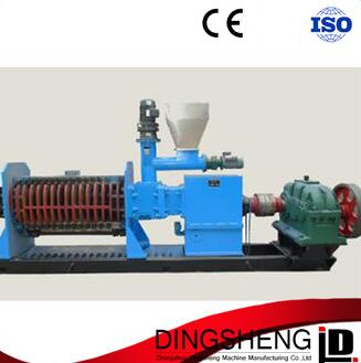 Factory price two shaft cashew nut shell oil pressing machine