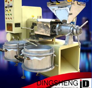 Automatic sunflower seed/cottonseed/peanut/soybean/rapeseed/sesame seed/flaxseed oil pressing machine