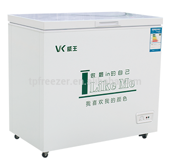 200L Ice cream display freezer