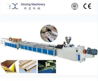 PVC wood- plastic Extruder profile frame door window making machine
