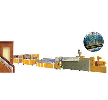 high efficiency excellent quality automatic pvc door production line