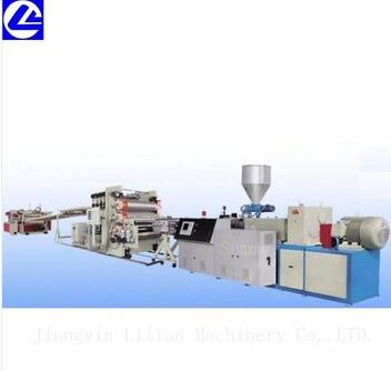 China supply PVC imitation marble decorative sheet making machine