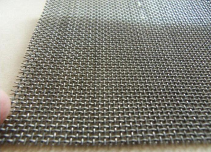 Strong Tension Abrasion Resistance Steel Mesh Screen