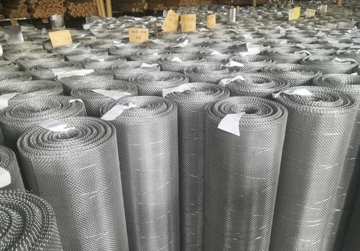 Dutch Weave Stainless Steel Woven Screen for Insect Screen