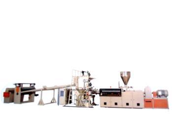 PVC WPC PLASTIC PLATE(SHEET) PRODUCTIOIN LINE