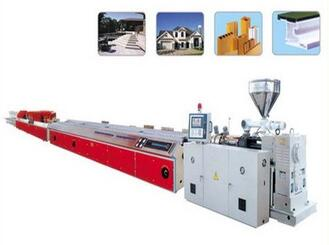 Plasticizing wood compounding profiles manufacturing machinery