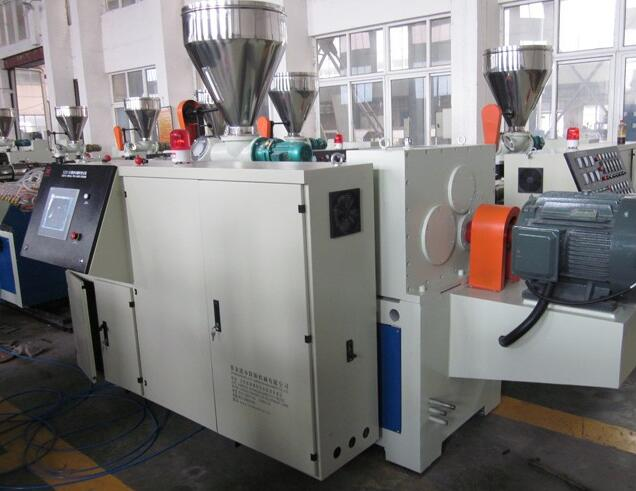 Lianshun machinery PVC/PP/PE wood plastic composite machine