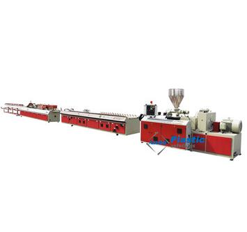 complete set PVC profile extrusion line for window door profiles