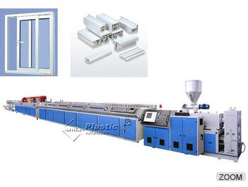 Double-screw 8-10T PVC UPVC window making machine
