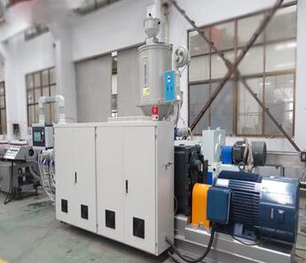 380V 50HZ 3 Phase High Efficient 90mm Single Screw Extruders