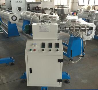 Full automatic ISO9001 Plastic mini extruder machine