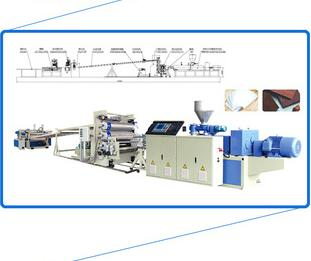 automatic pvc plastic decoration plate making machine with high quality