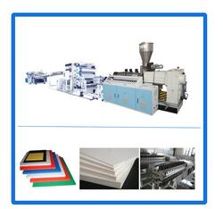600-2500 mm wide pvc free foamed sheet production line
