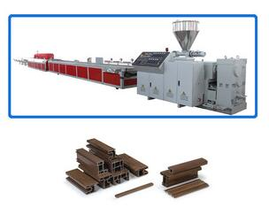window pvc profile making machine/pvc door profile extrusion line price