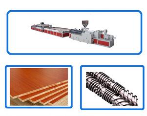 high quality machine for pvc wide door plate making with low price