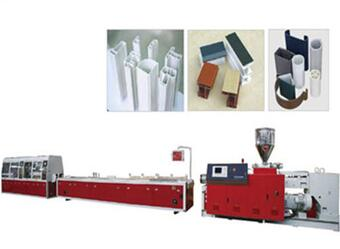 22-132kw PVC profile machine for window and door frame