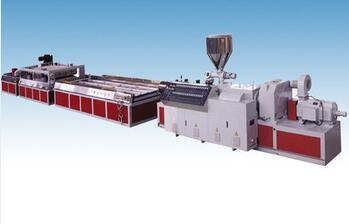 High quality UPVC/PVC profile extrusion line/making machine