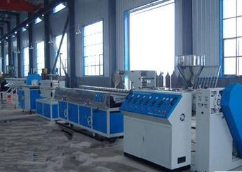 fully automatic 22-132kw WPC/PVC Profiles Extrusion Line