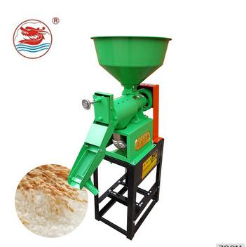 WANMA4922 Combined Paddy Husking Machine Running Rice Mill
