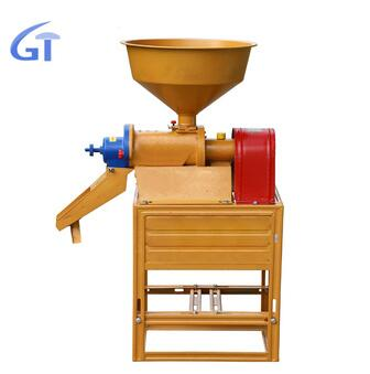 Small Single rice milling machine home use rice mill low price Automatic Complete