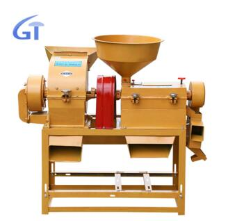 Flour Mill Machine Multi-functional Rice Mill And Pulverizer