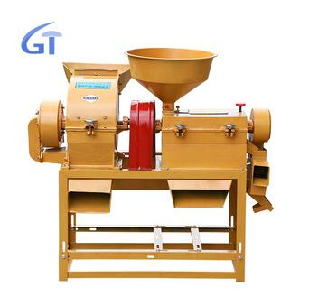 Full Automatic Compact Broken Home Use Domestic Rice Mill Machine For Sales
