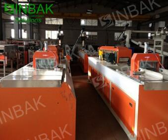SINBAK PVC/UPVC Profile Sliding Window Extrusion Machine/PVC Sliding Window and Door Production Line