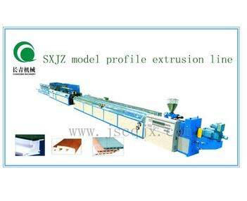 ZhangJiaGang machiery PVC windows and door profile extrusion line