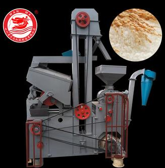 WANMA5303 Portable Types Of 1 ton Rice Mill Plant