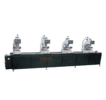 Four Head UPVC Window Making Machine Welding Machine