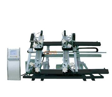 4 Head Corner Combining Machine For Aluminum Window Making