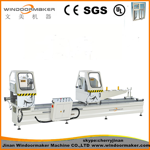 Aluminum Window Machine Double Head Cutting Saw