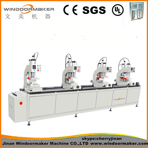 PVC Window Machine Four Head Welding Machine