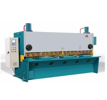 Instock Hydraulic guillotine shearing machine 8*8ft, stainless steel CNC guillotine cutting machine