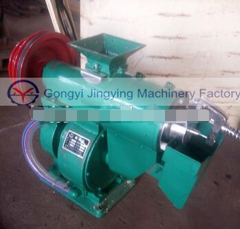 Complete rice husk removing processing milling machine