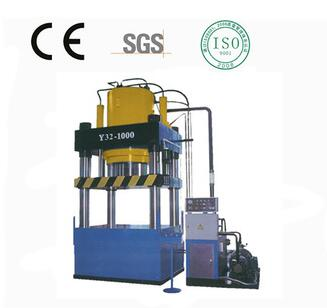 Shengchong Brand Y32 Series Machinery door plate embossing hydraulic press machine