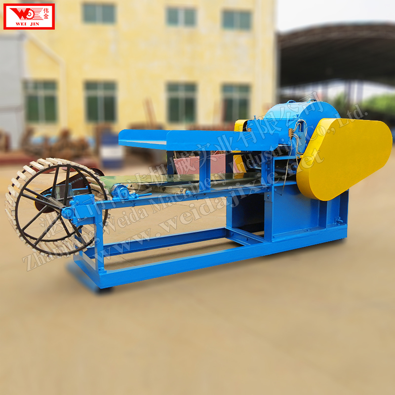 Supply Africa automatic banana stem decorticator,  fiber decoricating processing equipment, Weijin Brand