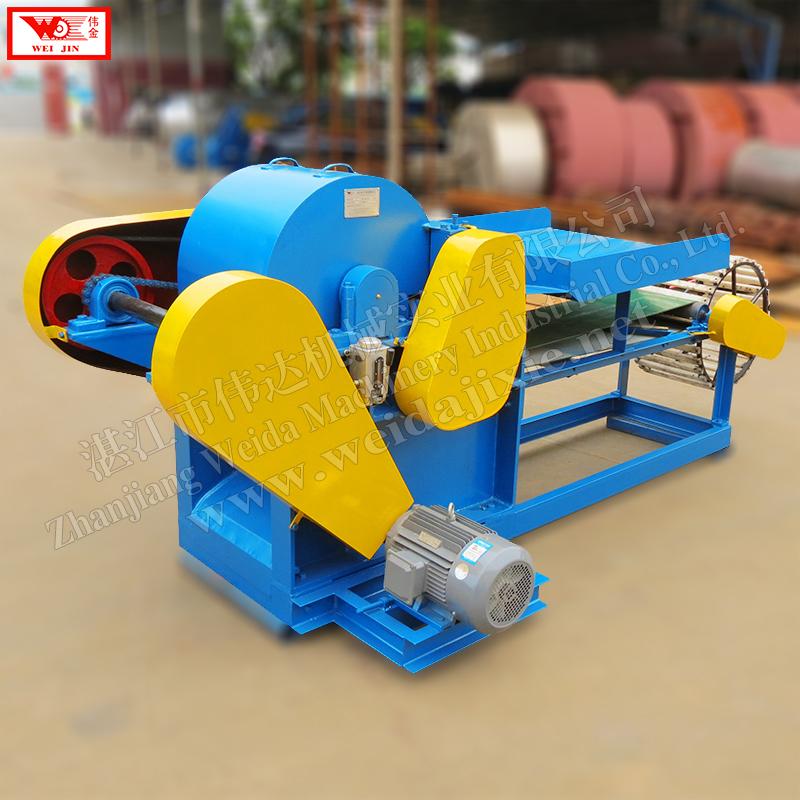 automatic hemp scraper supplied by Zhanjiang Weijin brand factory  extract clean fiber low intensity