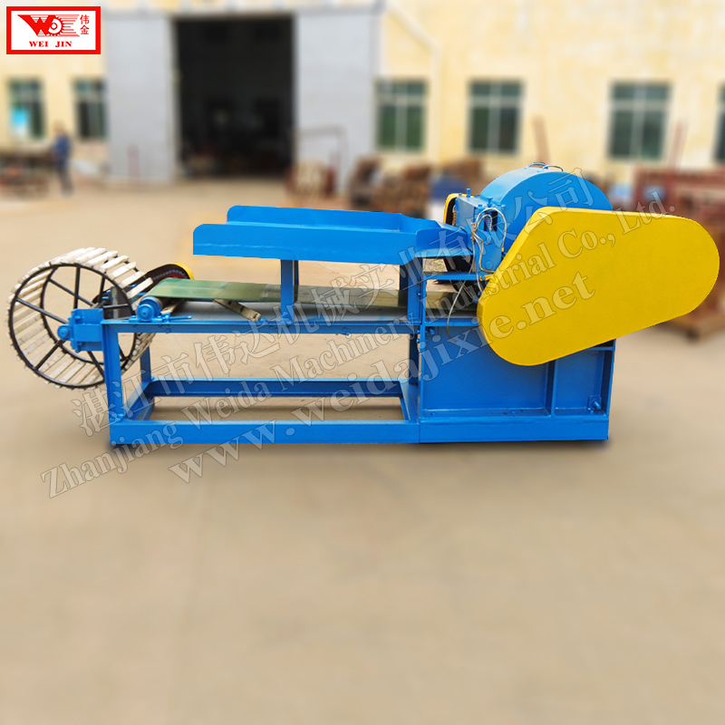 Automatic hemp fiber decorticator Weijin brand fiber production line supplied by factory directly,hemp plant sheller