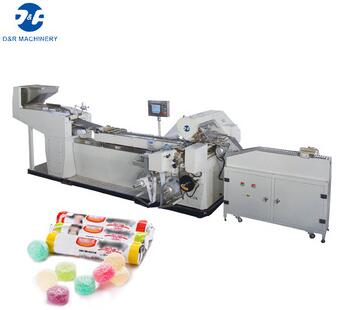 Jelly packing machine high speed, candy roll packing machine