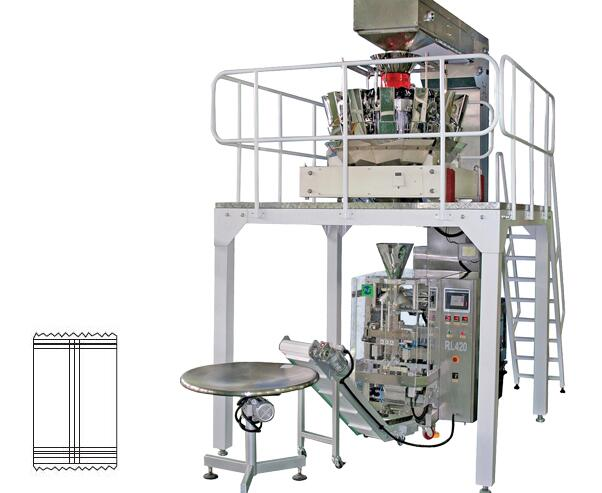 DRRL-420 220V Vertical automatic weight packing machine
