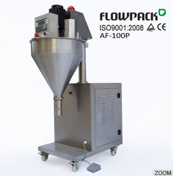 Semi-automatic Dry Milk Powder Auger Filling Machine