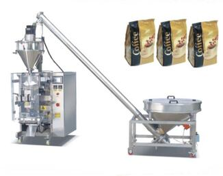 HTL-D420 1kg coffee powder bag packing filling machine
