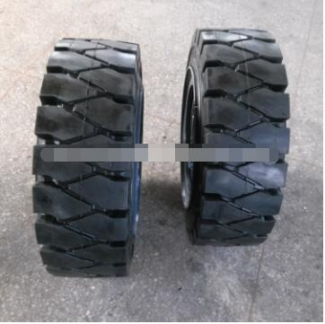 Forklift solid tyres with excellent wear characteristics