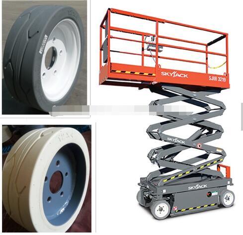 High quality Scissor lift wheels