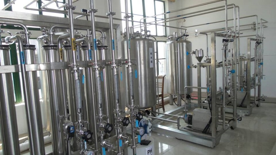 Ultrapure Water System for Pharmaceutical Industry for clean rooms equipment