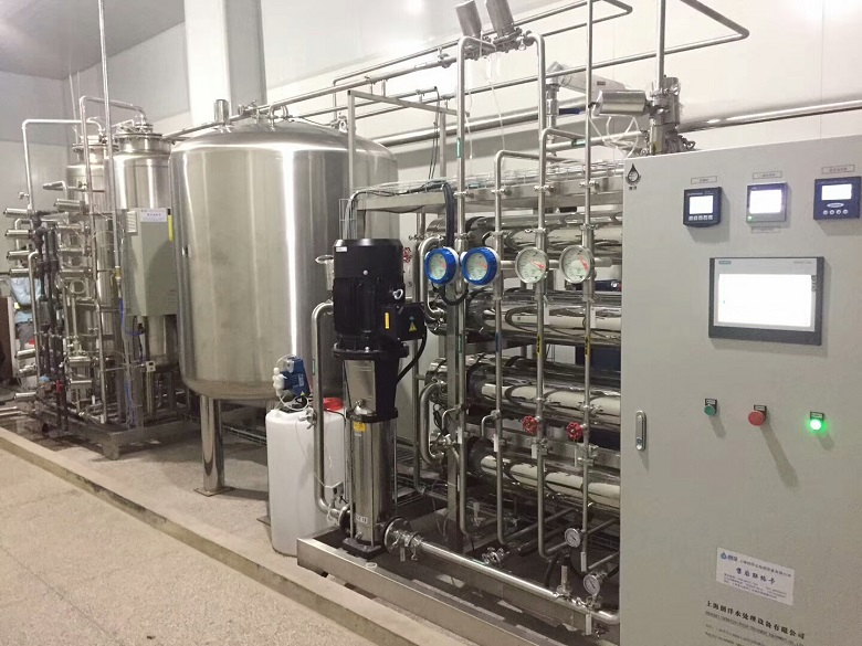 Purified Water Equipment for water for injection (WFI) water for pharma