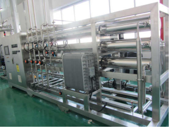 RO +EDI ,Reverse Osmosis System +EDI for Pharmaceutical Industry ,Cosmetic industry ,Chemical Industry